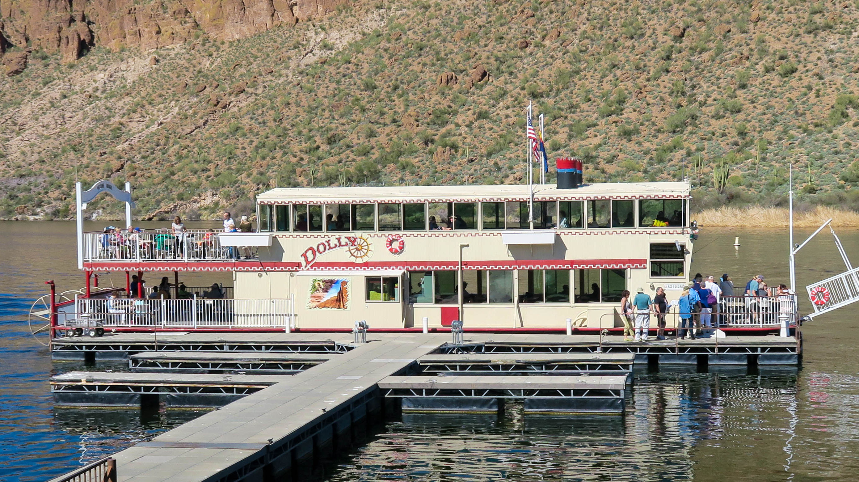 Canyon Lake Arizona Dolly Steamboat Nature Cruise