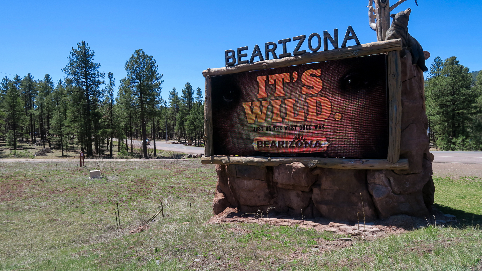 Bearizona Wild Animal Park in Williams Arizona