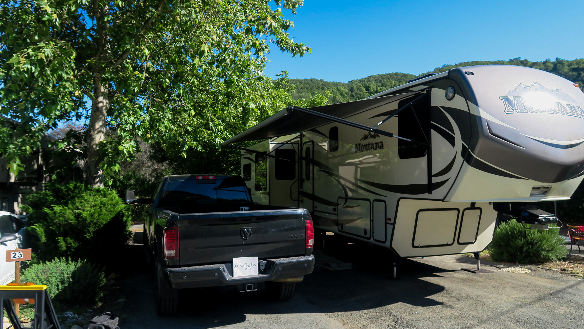 RV Walk-through Tour of Our Montana Fifth Wheel