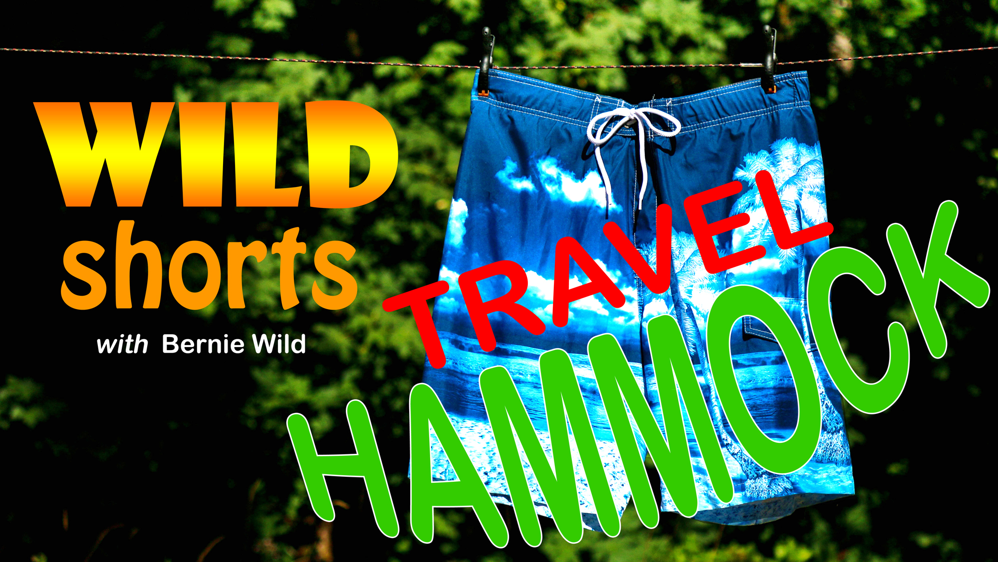 Wild Shorts – Travel Hammock