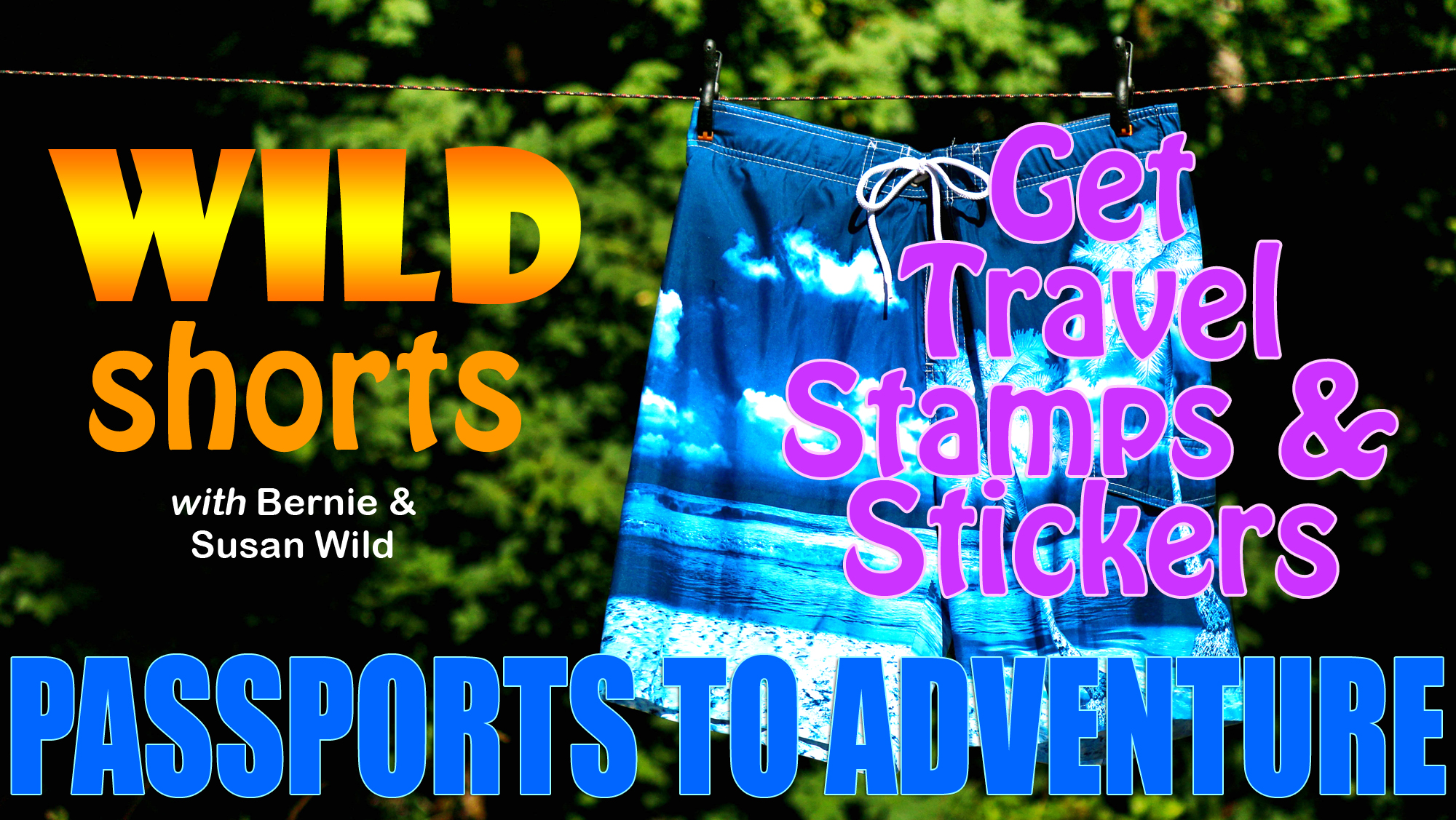 Recreation and Travel Destination Passports for Stamps and Stickers