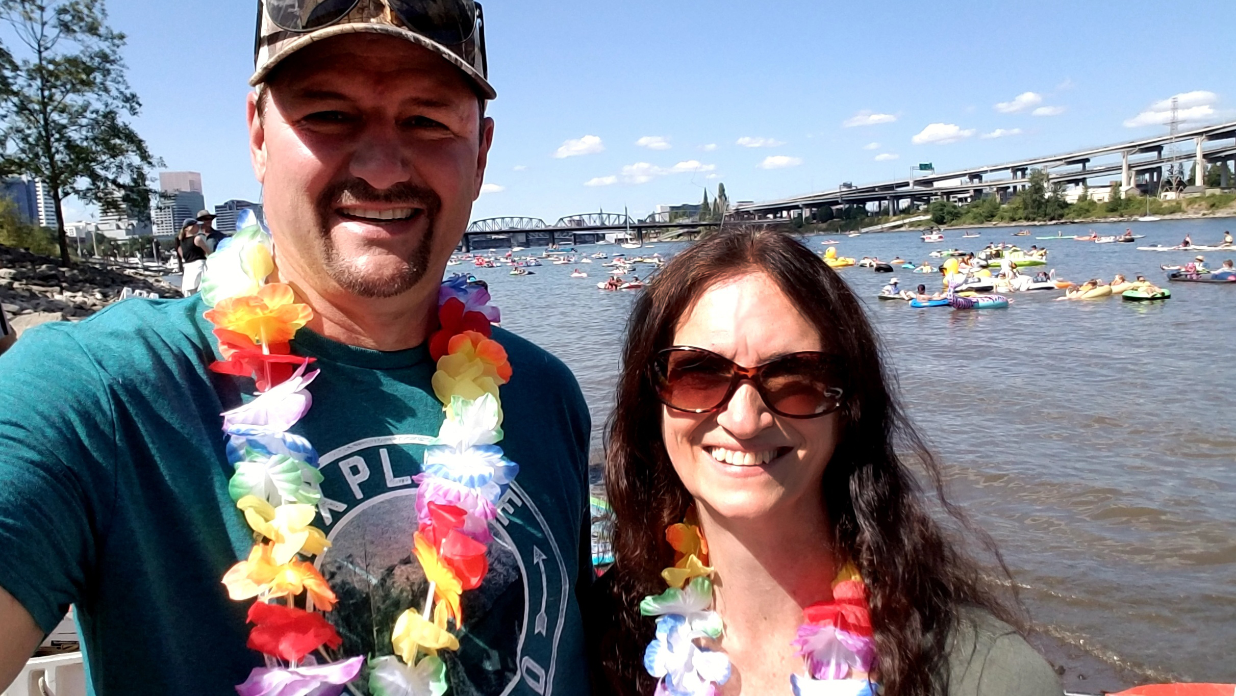Portland Waterfront Park | Saturday Market |The Big Float